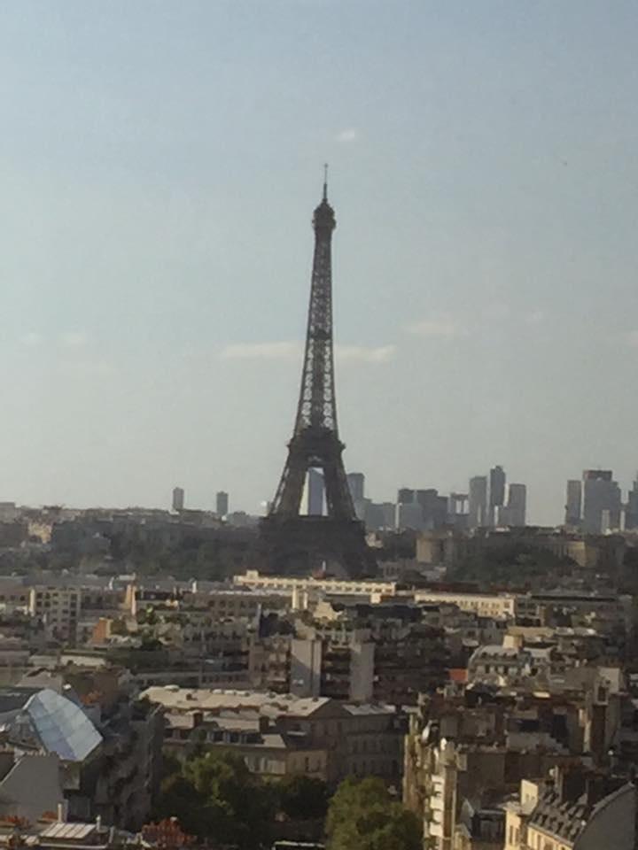 Vue sur Paris du bureau Check'ndo